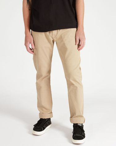 04.33.0626_Calca-Volcom-Regular-Khaki-Vorta-Denim